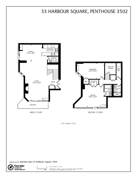 33 harbour square floor plans meze blog