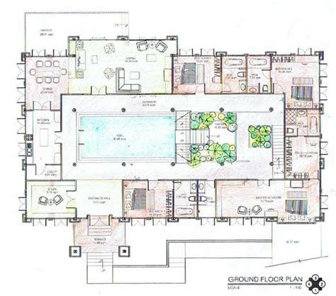 underground house plan dream homes pinterest underground solar homes underground house construction
