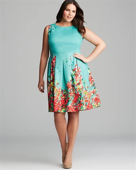 Eight Plus Size Floral Frocks That You Can Wear This Spring
