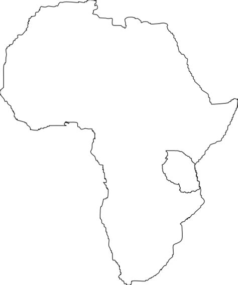 africa map clipart africa map tanzania clip at clker vector clip