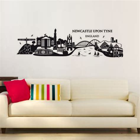 size wall stickers newcastle upon tyne wall decal large size vinyl waterproof adhesive building wall