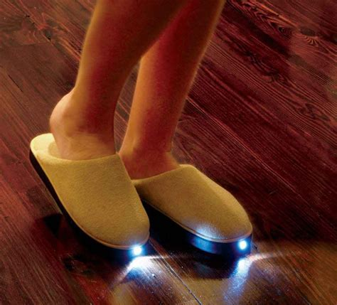 Slippers With Headlights Dudeiwantthat Com