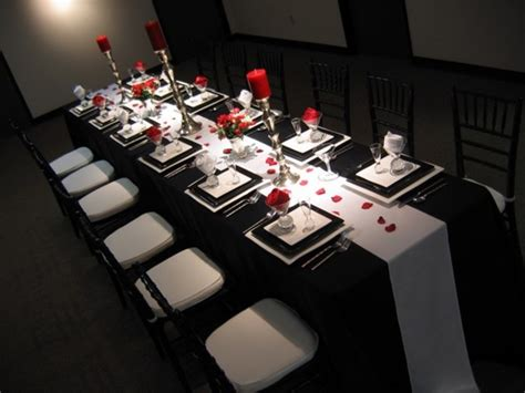 black and white table decorations table decoration ideas black and white