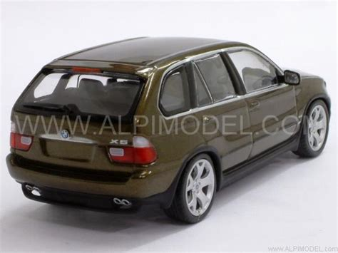 olive green bmw minichs bmw x5 1999 olive green metallic 1 43 scale
