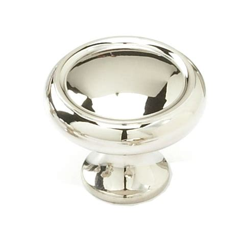 polished nickel cabinet knobs schaub and company country 1 1 4 inch diameter polished