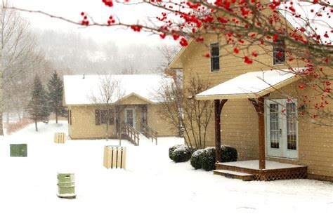 Stonewall Cottages by Winter Lakeside Cottage At Stonewall Resort On The