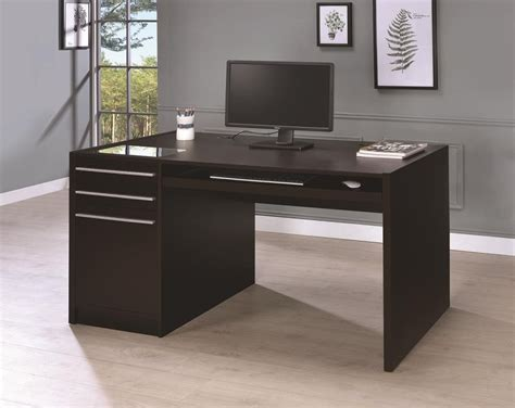 home office desks contemporary cappuccino connect it