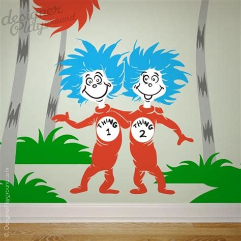 Dr Seuss Nursery Wall Decals Dr Seuss Wall Decal Traditional Nursery Decor Other Metro By Designer Playground