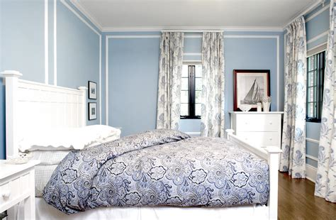 pictures of what color curtains go with blue walls designs