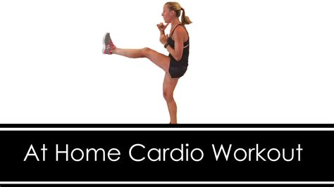 at home cardio workout no equipment 15 minutes