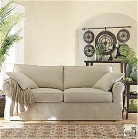 jc penney slipcovers new jcpenney olivia 7pc sofa slipcover in quot rustic quot 299 ebay