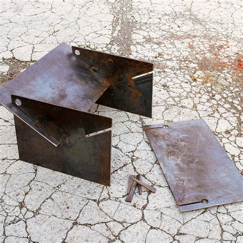 metal pits tecton steel collapsible pit by magma firepits