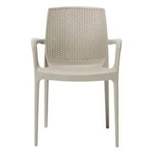 fauteuil de jardin boheme plastique marron 224 11 25