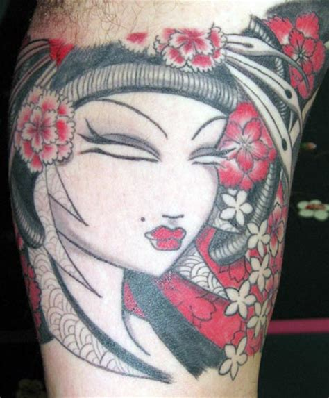 japanese geisha tattoo finder ideas lettering gallery arm