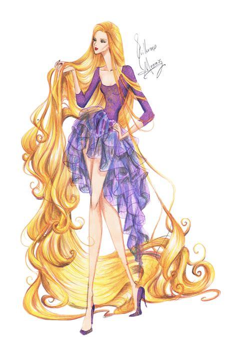 fashion illustration rapunzel fashion rapunzel by frozen winter prince on deviantart