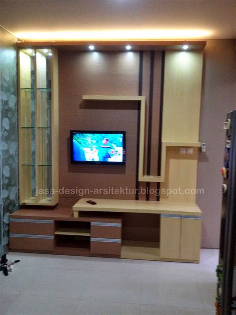 Lemari Multiplex Surabaya kontraktor interior surabaya sidoarjo desain meja tv dan