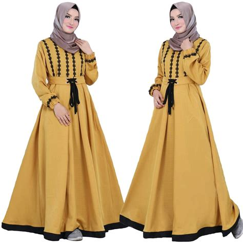 Gamis Balotelli Louisa baju muslim wanita gamis syari pesta mewah jaguar gliter