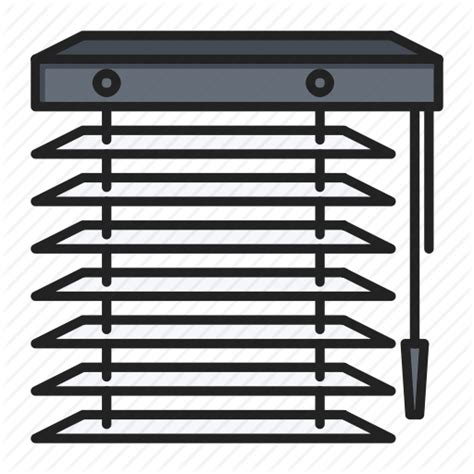 blinds jalousie tool window blinds icon icon search - Jalousie Icon