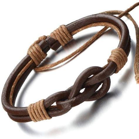 nudos para pulseras cuero las 25 mejores ideas sobre pulseras de cuero en
