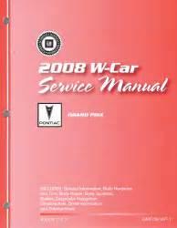 free online auto service manuals 2008 pontiac grand prix engine control 2008 pontiac grand prix factory service manual