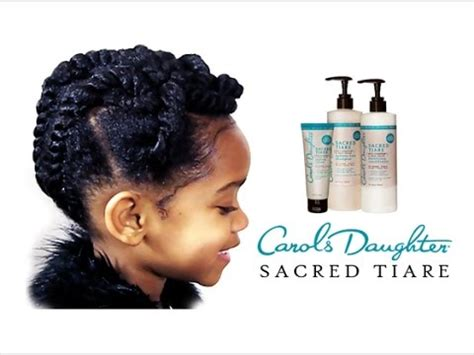 short natural hair carols daughter natural kids taylor s updo with carol s daughter sacred