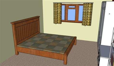 farmhouse bed plans howtospecialist how to build step farmhouse bed plans howtospecialist how to build step