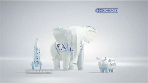 origami advertising 1 800 contacts tv spot origami ispot tv