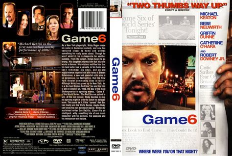 film quiz dvd game 6 movie dvd scanned covers 349game 6 dvd covers