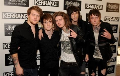 Kaos Band Asking Alaxandria 77 best images about bands on mitch lucker screamo and silence