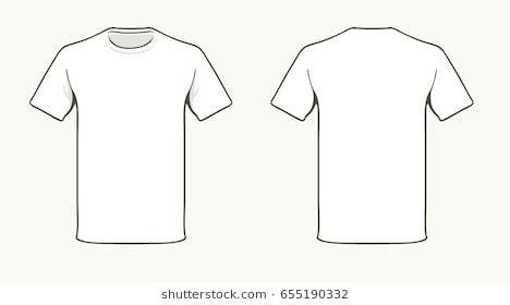 T Shirt Design Images Stock Photos Vectors Shutterstock White T Shirt Template