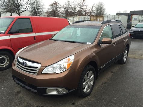 subaru brown 2011 subaru outback 4 door brown vin 4s4brgkc5b3377323