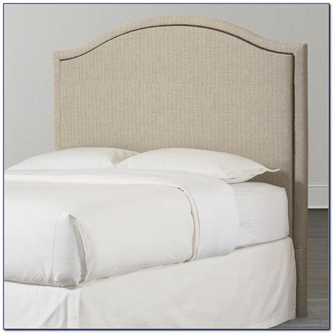 wooden beds with fabric headboards headboard home