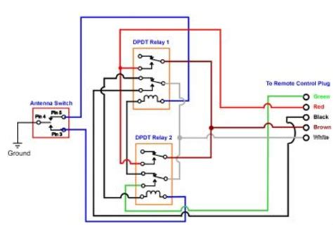 110v relay box 110v wiring diagram and circuit schematic