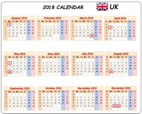 printable calendar 2017 and 2018 uk february 2018 calendar with holidays uk calendar yearly