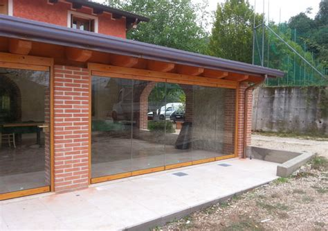 vetrata veranda top vetrata per veranda effetto legno with vetrate per verande