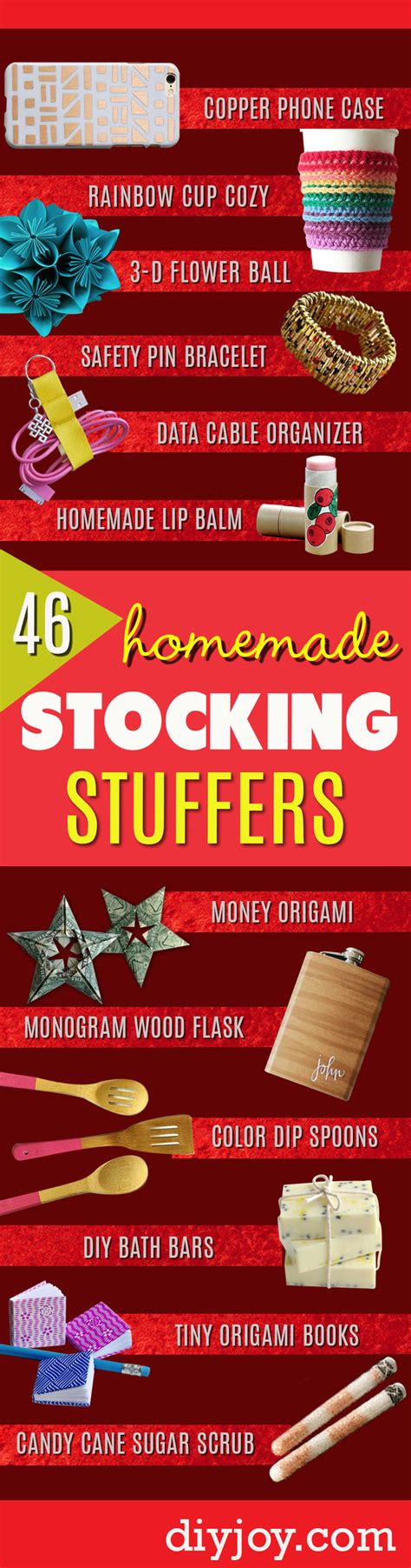 Handmade Stuffers - 46 tiny gifts that make the cutest diy