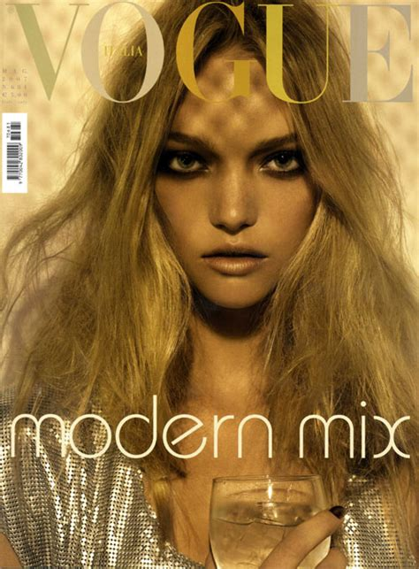 Vogues May 2007 Cover by Gemma Ward For Vogue Italia May 2007 The Walk 百度空间