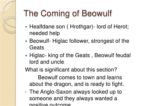 beowulf sections beowulf review partial