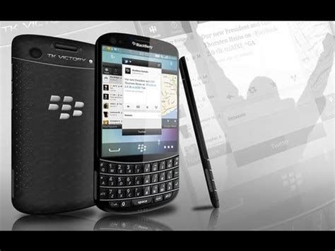 Hp Bb Tk Victory blackberry tk victory concept phone overview