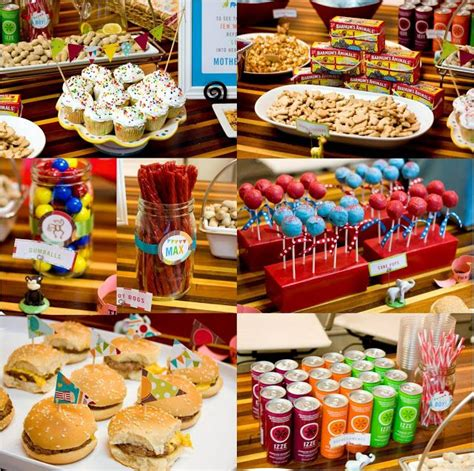 carnival themed party food 10 awesome baby shower ideas that are completely unique