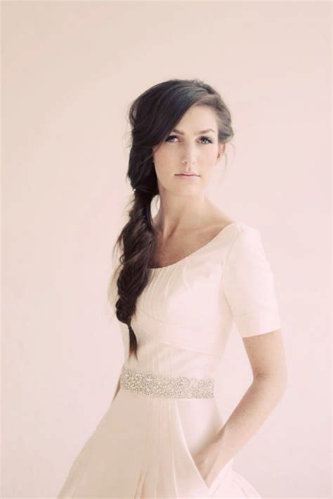 diy hairstyles for strapless dresses wedding gowns with pockets