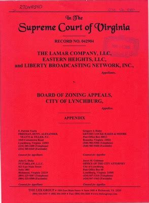 Lynchburg Va Court Records Virginia Supreme Court Records Volume 270 Virginia Supreme Court Records