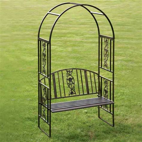 ornamental garden bench greenhurst 2 seater arch bench on sale fast delivery