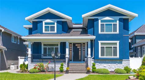 terbaik  cat rumah warna biru tosca tampak depan