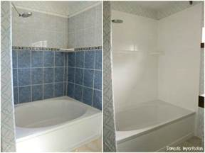 bathroom paint and tile ideas my painted shower one year later domestic imperfection
