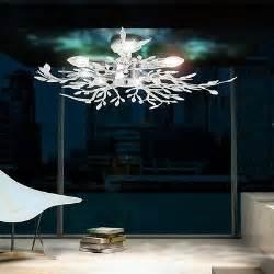 beleuchtung design design decken beleuchtung esszimmer le acryl bl 228 tter