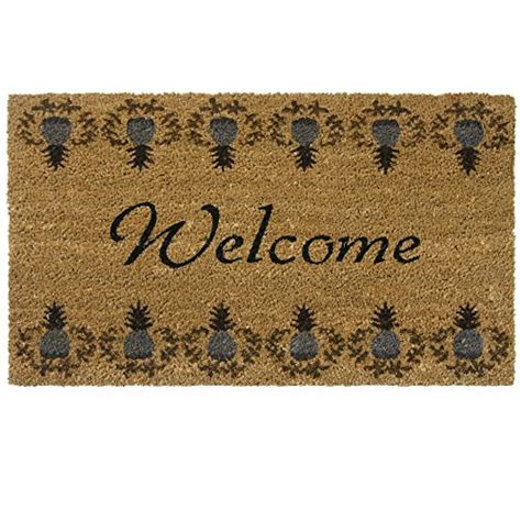 Welcome Mats For Sale Top Best 5 Pineapple Door Mat For Sale 2016 Product