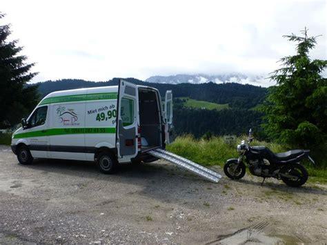 Motorradtransporter Mieten by Motorradtransporter Mieten Startseite