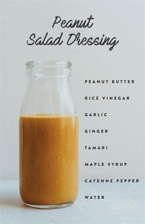 Detox Salad Maple Syrup Rice Vinegar 6 healthy salad dressings bird food