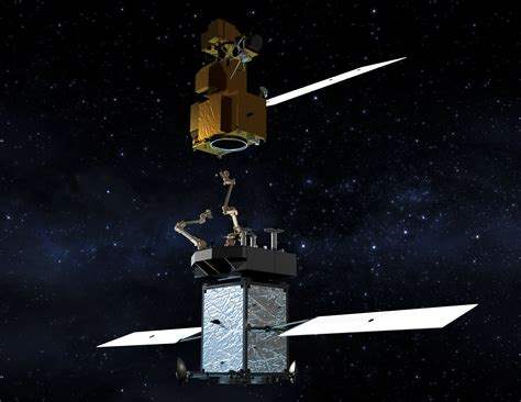 Space L by Nasa S Restore L Mission To Refuel Landsat 7 Demonstrate